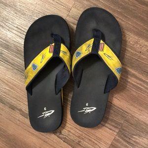 U of Toledo flip flops
